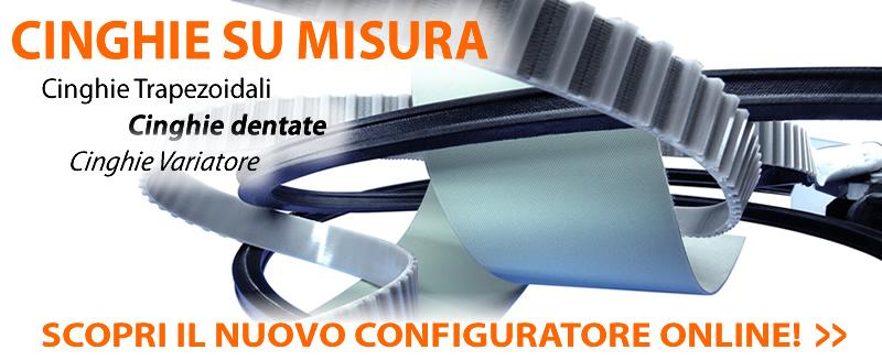 Configuratore cinghie su misura online UtensileriaOnline.it