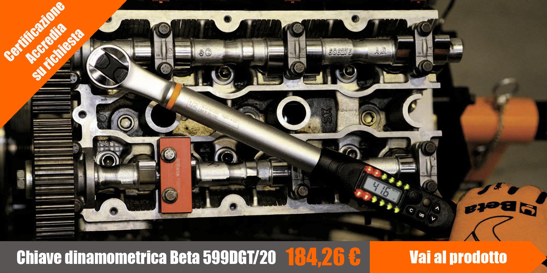 Chiave dinamometrica beta per serraggi di precisione