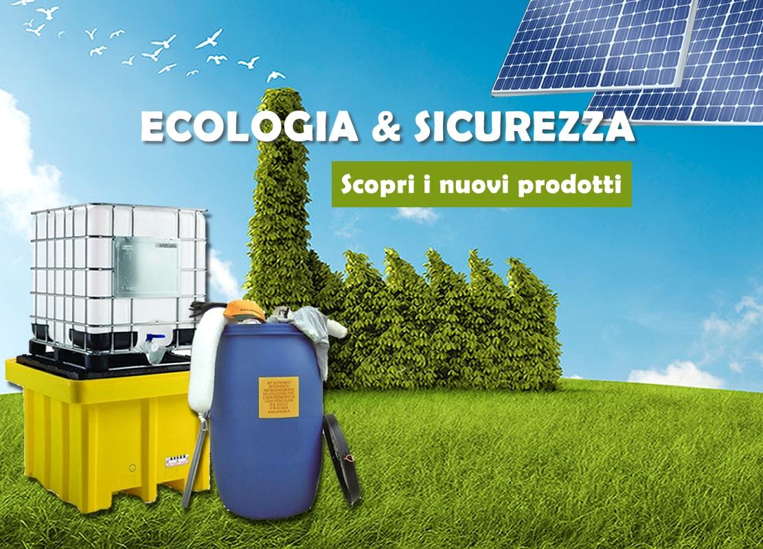 Tutti i prodotti indispensabili per assorbire, sbarrare e riciclare materiali nocivi