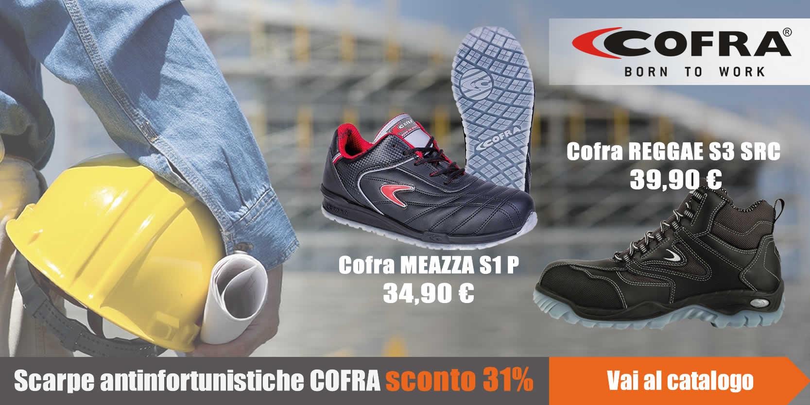 Promo scarpe COFRA extra sconto 31%