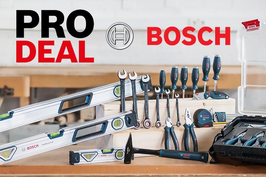 Promo Bosch utensili manuali in omaggio