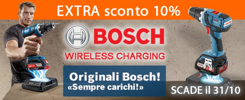Offerta utensili Bosh Wireless su Utensileriaonline.it - Extrasconto 10%