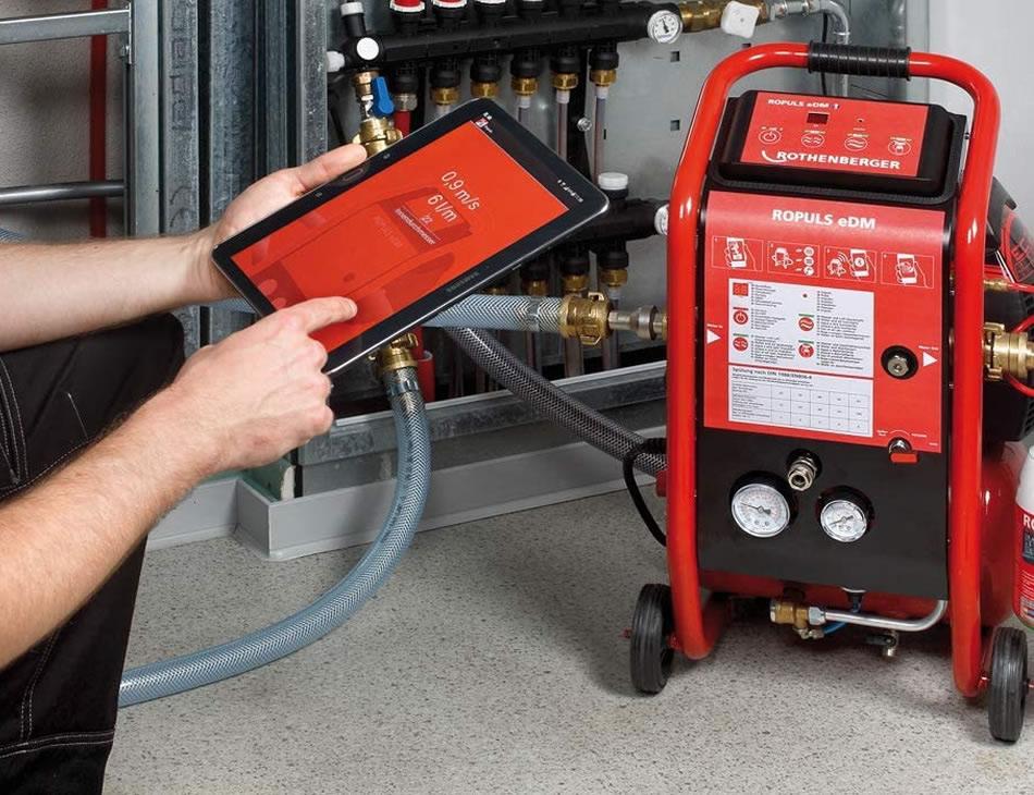 Rothenberger compressore professionale per pulizia e manutenzione impianti condizionamento