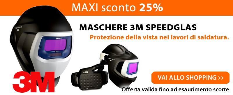 MAXI sconto maschere 3m speedglas