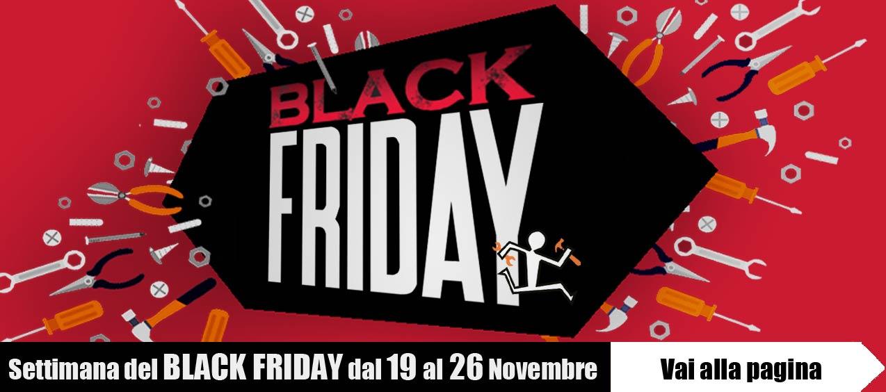 Black friday dal 19 al 26 novembre su UtensileriaOnline
