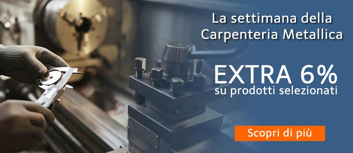 Settimana della Carpenteria: le offerte selezionate per te con EXTRA SCONTO 6%