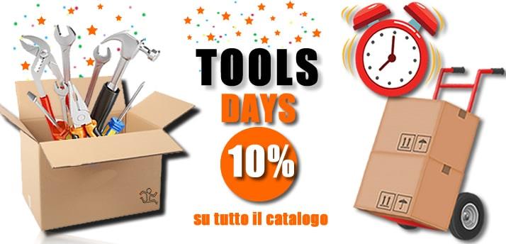 PrimeDay diventano i Tools Days su UtensileriaOnline