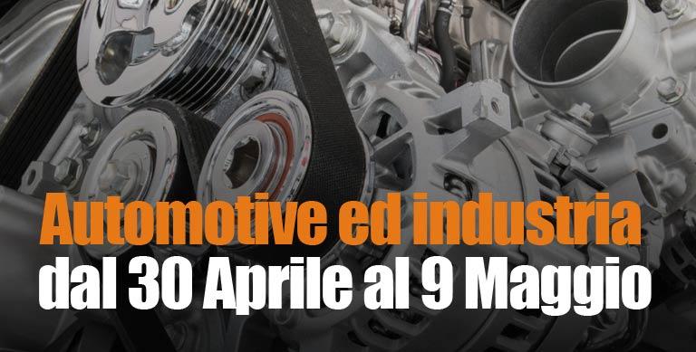 forniture industriali e automotive