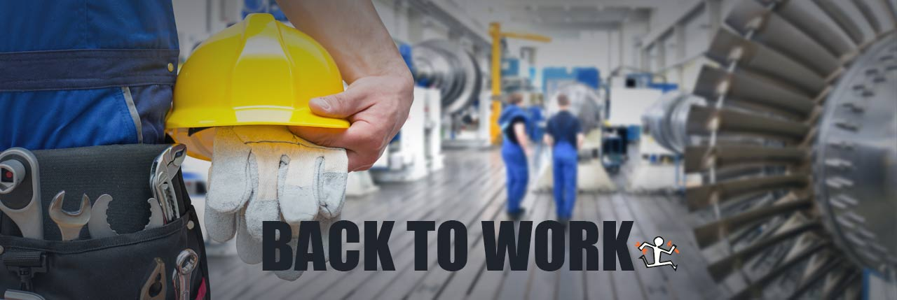 Attrezzatura industriale Settembre, back to work