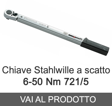 Chiave dinamometrica a scatto Stahlwille 721/5