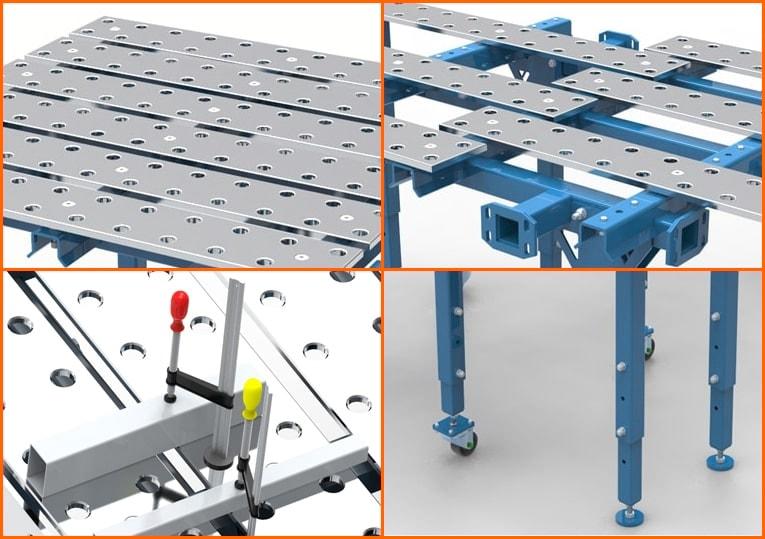 caratteristiche tavolo saldatura SteelPro GPPH