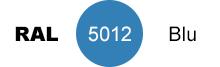 colore blu RAL 5012