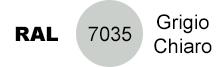 colore grigio chiaro RAL 7035