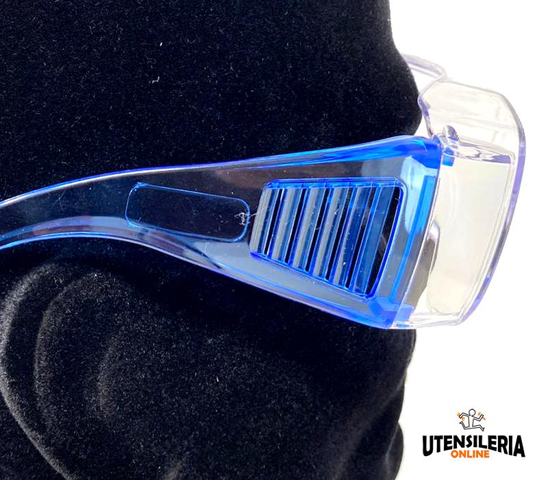 Occhiali modello DOUBLE ottima protezione laterale
