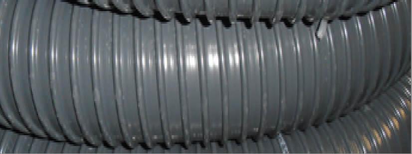 immagine dettagliata tubo aspirazione flessibile ARIAPVC