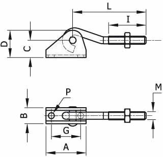 immagine dettagliata accessorio a tirante 160X/TU