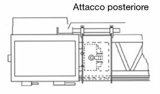 Caratteristiche attacco posteriore 140.06 LTF