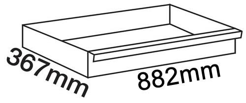Dimensioni cassetti carrello Beta C24SA-XL