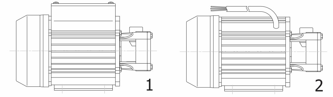 elettropompa di raffreddamento SAL 40 tipo MEC56