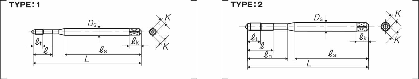 dettagli dimensioni maschio SP-VA yamawa