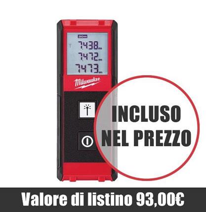 Distanziometro LDM 30 incluso nel prezzo