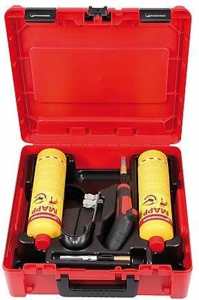 dotazione inclusa nel prezzo kit saldatura con bombole MAPP gas