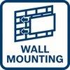 montaggio al muro