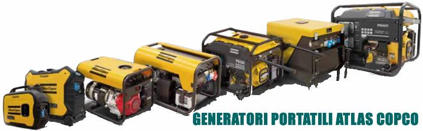 tabella dettagliata generatore portatile QEP8