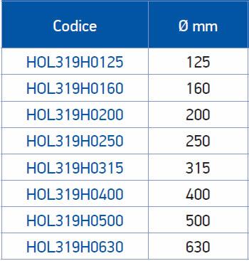 tabella dettagliata griffe base+blocchetto tenero 319H