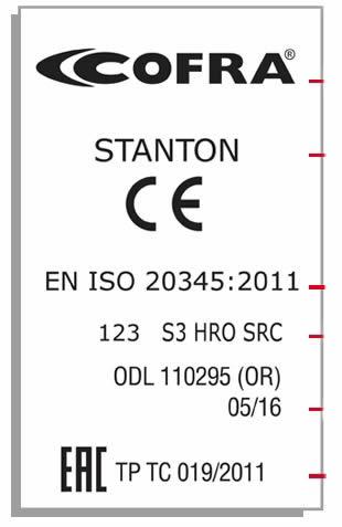 Certificazione di marcatura scarpe antinfortunistiche COFRA