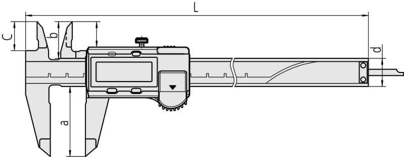 misure calibro 500-182-30 MITUTOYO