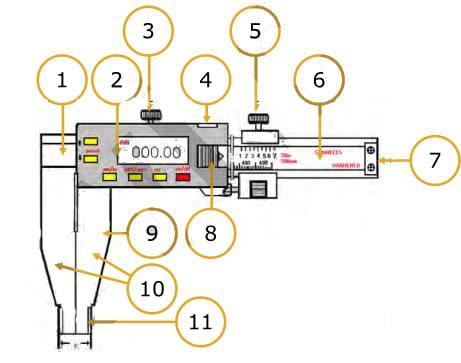 dettaglio componenti arredamento A007D Fervi