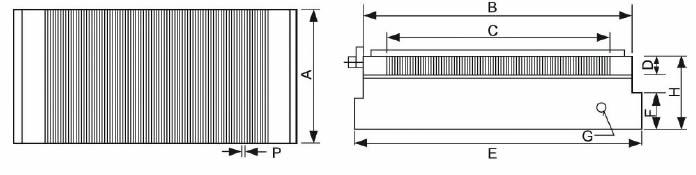 immagine dettagliata piano magnetico 901