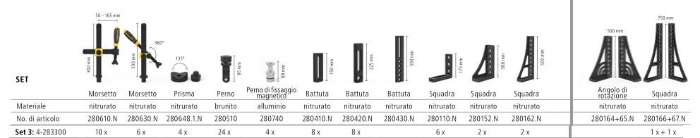 Accessori Tavolo da saldatura modello EXTREME PROFESSIONAL 8.7 System 28