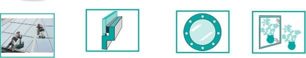 immagine dettagliata applicazione silicone MULTIGLAZIER