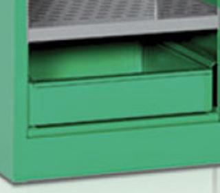 Caratteristiche armadio sicurezza fitosanitari Tecnotelai vasca di raccolta