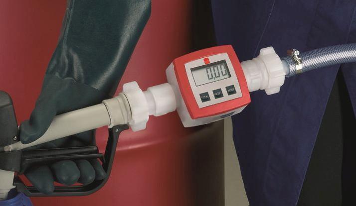 utilizzocontalitri per pompa elettrica prodotti acidi concentrati ed alcalini Airbank