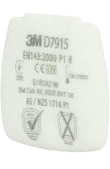 dettaglio filtro a cartuccia Classe P1 D7915 3M Secure Click