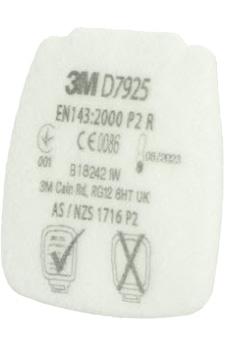 dettaglio filtro a cartuccia Classe P2 D7925 3M Secure Click