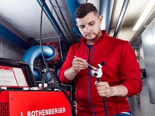 dettaglio pasta termoconducente Rofrost Rothenberger