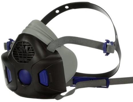 dettaglio respiratore a semimaschera 3M HF-800SD Secure Click