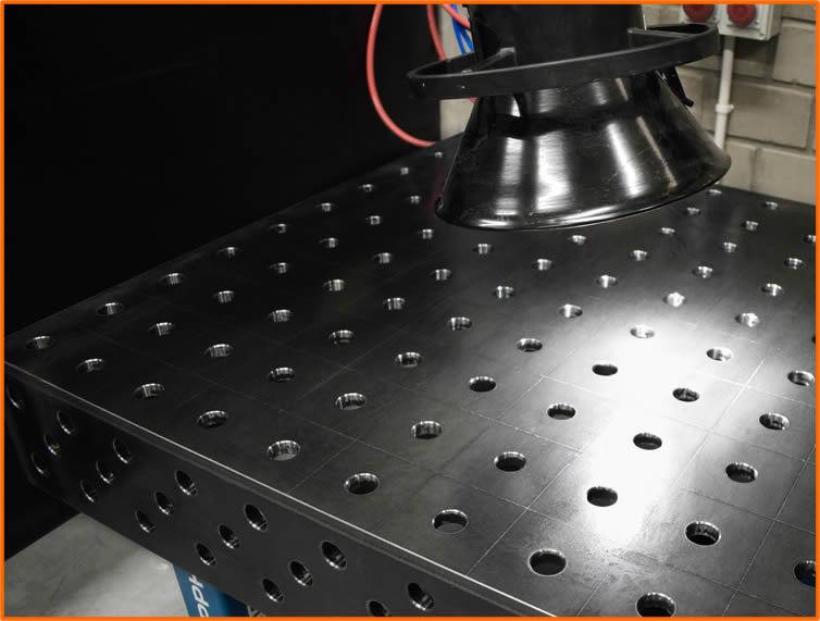 superficie tavolo saldatura GPPH