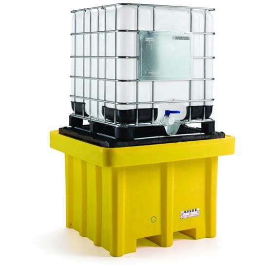 vasca di raccolta in plastica per cisterna acidi alcalini e olio Fami