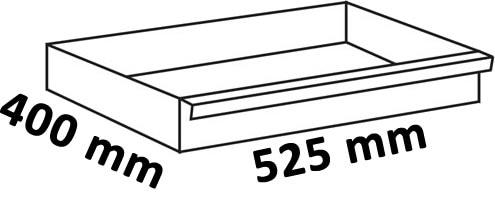 Dimensioni cassetto 525x400