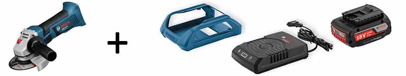 Dotazione utensile a batteria wireless BOSCH