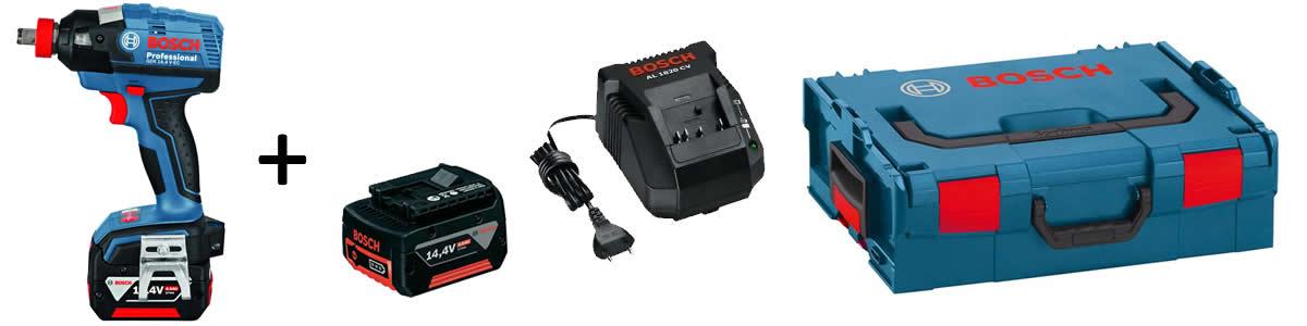 Dotazione avvitatore GDX 14,4 V-EC Bosch