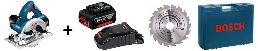 Dotazione utensili a batteria BOSCH