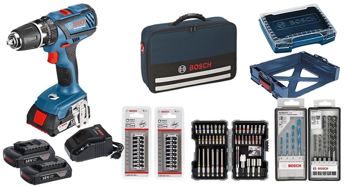 Dotazione trapano GSB 18-2-LI Bosch