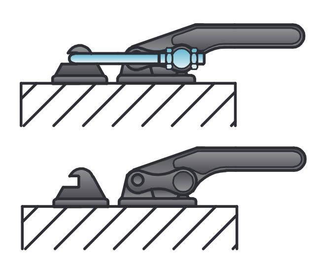 dettaglio esecuzione serraggio SpeddyBlock serie 1700/T2