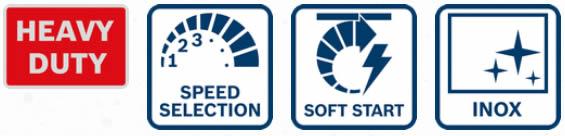 Funzioni lima elettrica Bosch